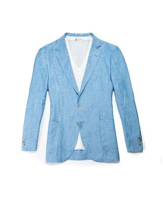 圖片 Colombo - 淺藍色西裝外套