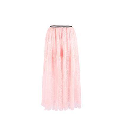 圖片 Ermanno Scervino - 粉紅色蕾絲長裙