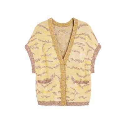 圖片 Maison Ullens - 黃色針織外套