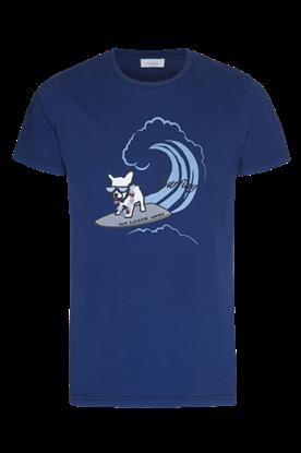 圖片 Van Laack - 沖涼狗印刷圖案T-恤